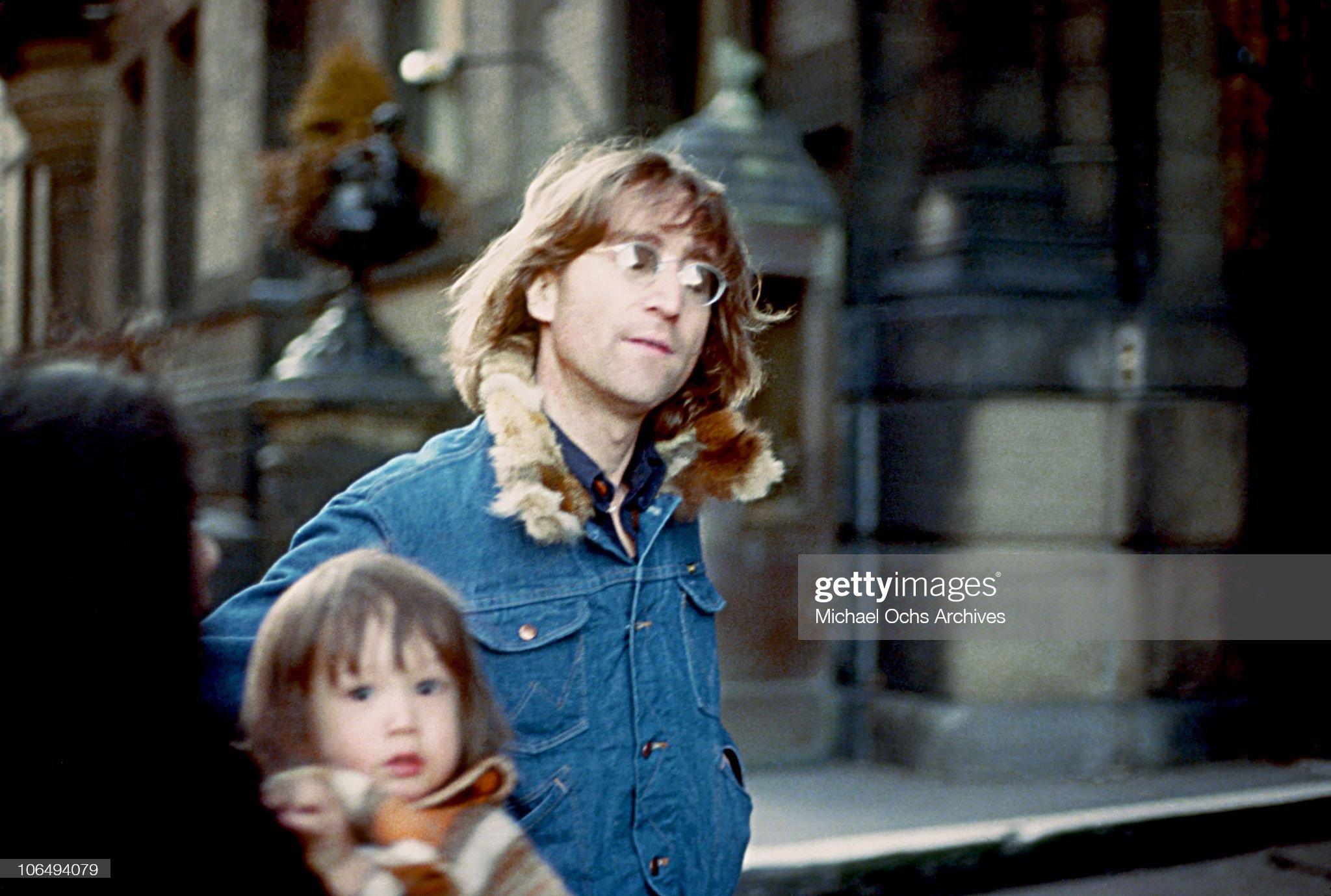 John , Yoko And Sean : News Photo