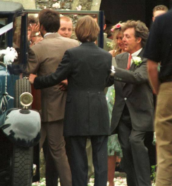 SHOWBIZ Wedding Paul McCartney