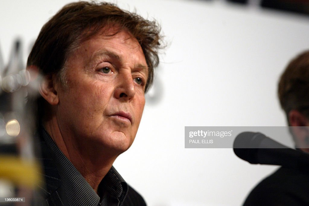 Former Beatle Sir Paul McCartney Speaks During A Press Conference 30 January 2006