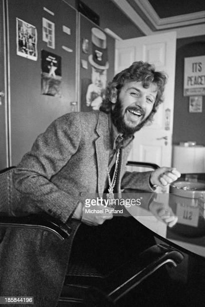 Former Beatles drummer Ringo Starr 22nd October 1973