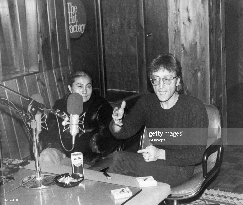Former Beatles Star John Lennon Sat Alongside His Wife Yoko Ono During An Interview With BBC