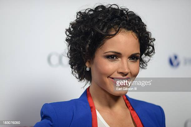 """Former Beauty Queen Susie Castillo attends the Latina Magazine """"Hollywood Hot List"""" Party at The Redbury Hotel on October 3, 2013 in Hollywood,..."""