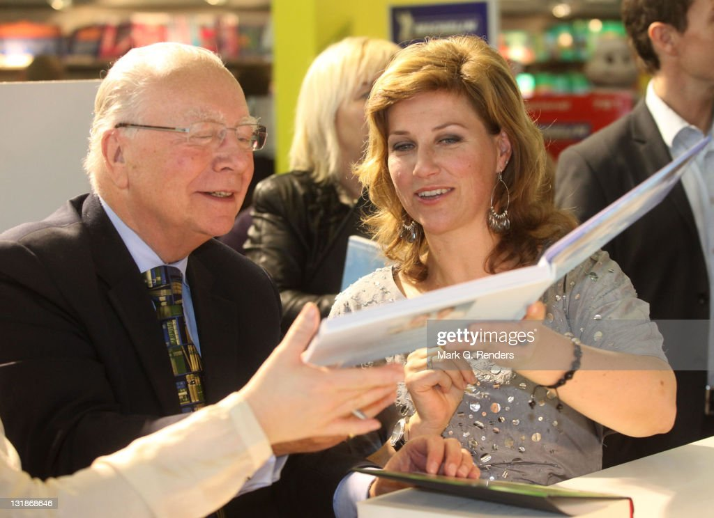 Princess Martha Louise Of Norway Book Signing at Antwerp Book Fair