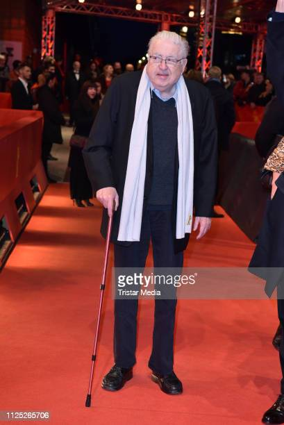 Former Berlinale festival director Moritz de Hadeln arrives for the closing ceremony of the 69th Berlinale International Film Festival Berlin at...