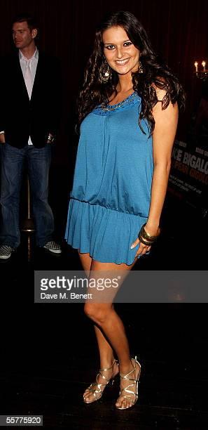 Former Big Brother contestant Saskia HowardClarke arrives at the UK Premiere of Deuce Bigalow European Gigolo at the Rex Cinema Bar on September 26...