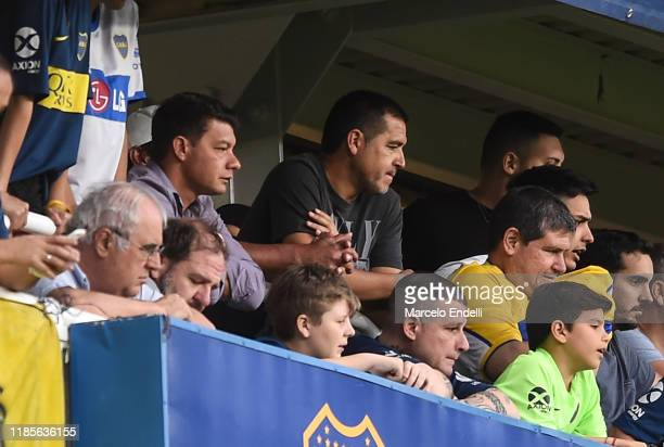 Former Boca Juniors player and second Vice President candidate for opposition in upcoming Presidential election in Boca Juniors,Juan Roman Riquelme...