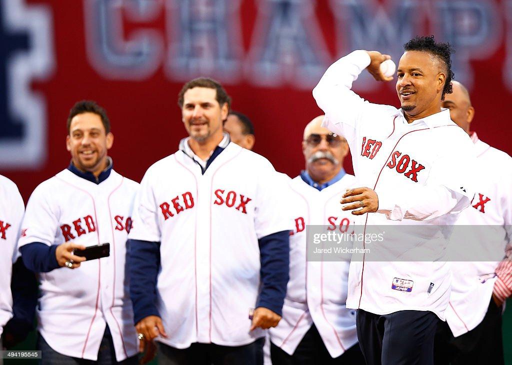 Atlanta Braves v Boston Red Sox : News Photo