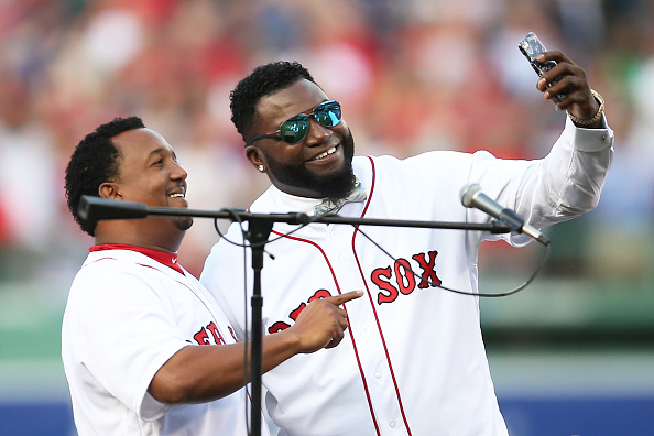 Los Angeles Angels of Anaheim v Boston Red Sox : News Photo