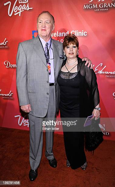 Former boxer Chuck Wepner and wife Linda arrive at the Keep Memory Alive foundation's Power of Love Gala celebrating Muhammad Ali's 70th birthday at...
