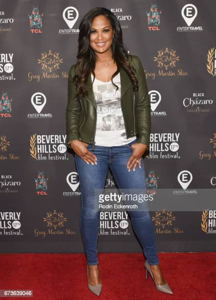 Former boxer Laila Ali attends GUN showing at the 17th Annual Beverly Hills Film Festival Opening Night at TCL Chinese 6 Theatres on April 26 2017 in...