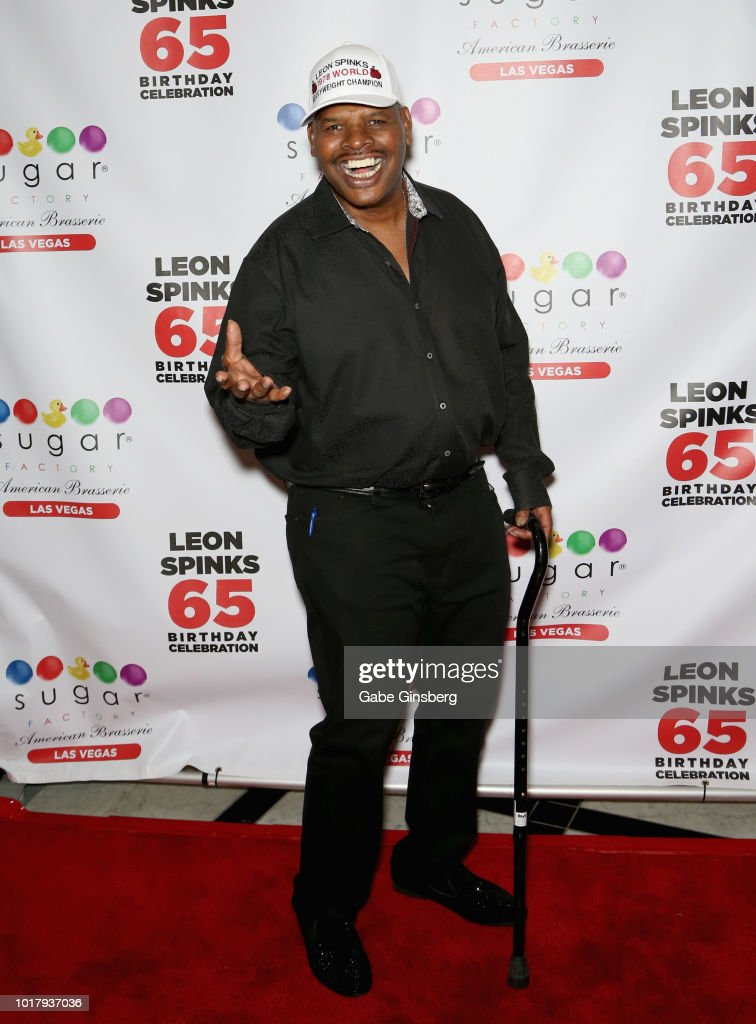 Leon Spinks Celebrates His Birthday Party At Sugar Factory