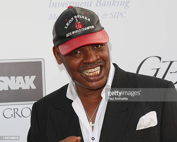 Former Boxer Leon Spinks attends the 3rd annual Big Fighters Big Cause charity boxing event at Santa Monica Pier on May 22 2012 in Santa Monica...