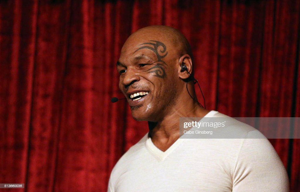 """""""Mike Tyson UNDISPUTED TRUTH - Live On Stage"""" At MGM Grand In Las Vegas : News Photo"""