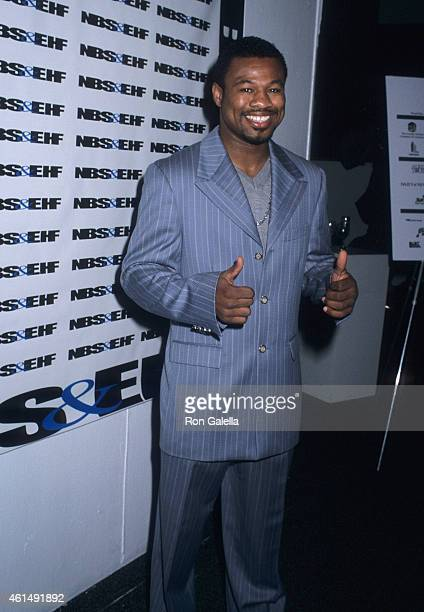 Former boxer Sugar Shane Mosley attends the First Annual National Black Sports and Entertainment Hall of Fame Induction Ceremony on August 29 2001 at...