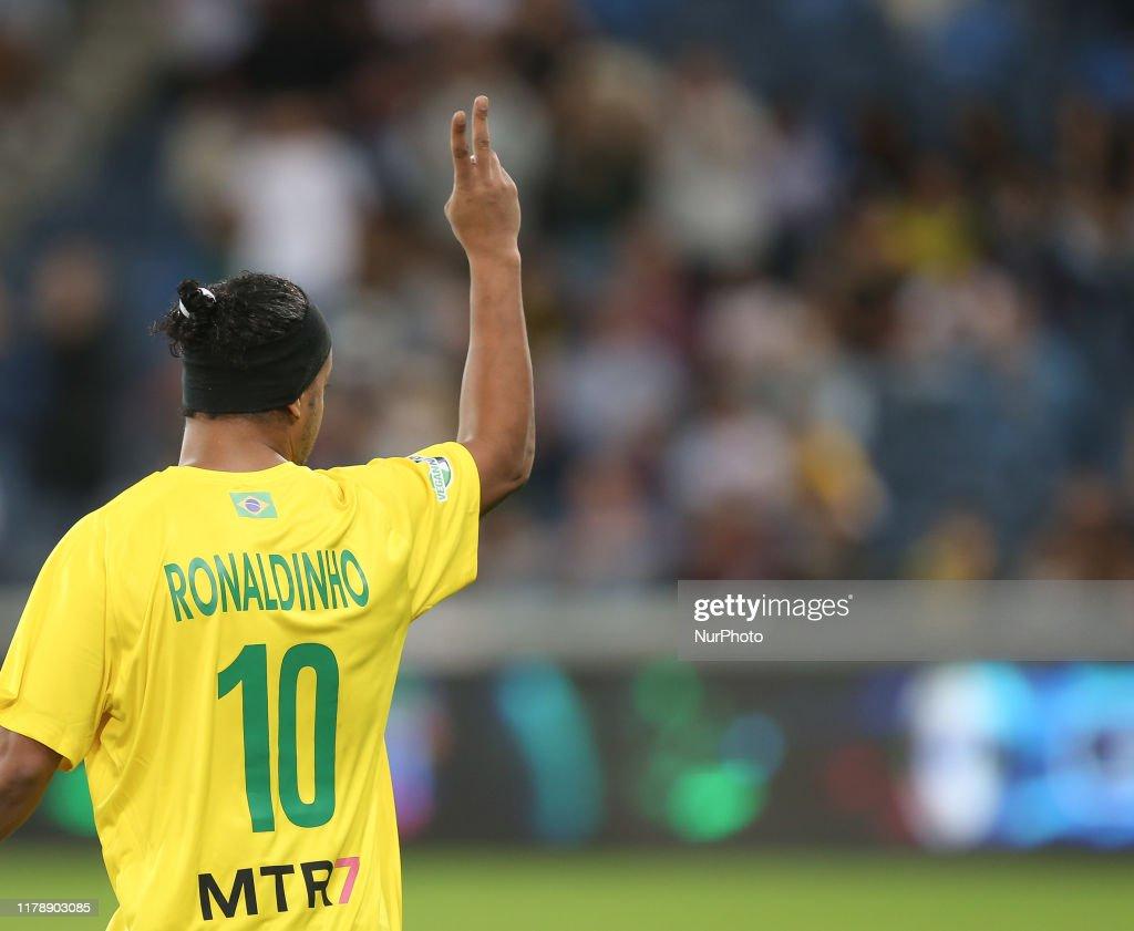Brazil Legends v Israel Legends : ニュース写真