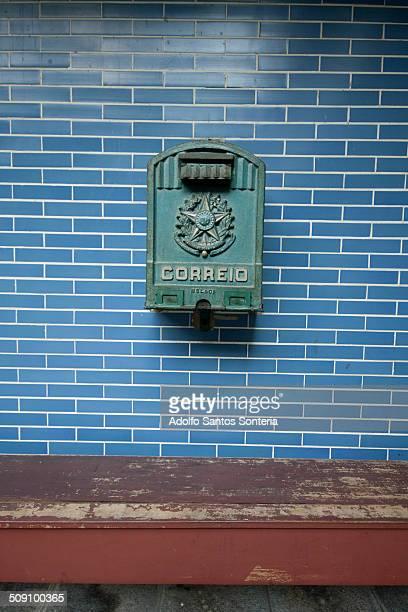 Former Brazil's Post Office box.