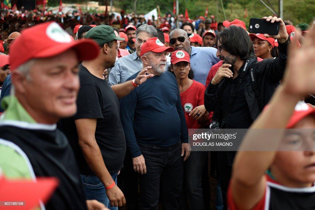 BRAZIL-POLITICS-LULA-CAMPAIGN : News Photo