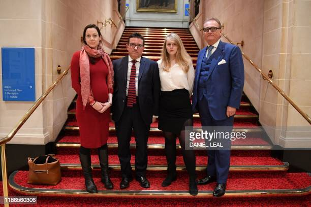 Former Brexit Party MEPs, Annunziata Rees Mogg, MEP for East Midlands, Lance Forman, MEP for London, Lucy Harris, MEP for Yorkshire and Humber, and...