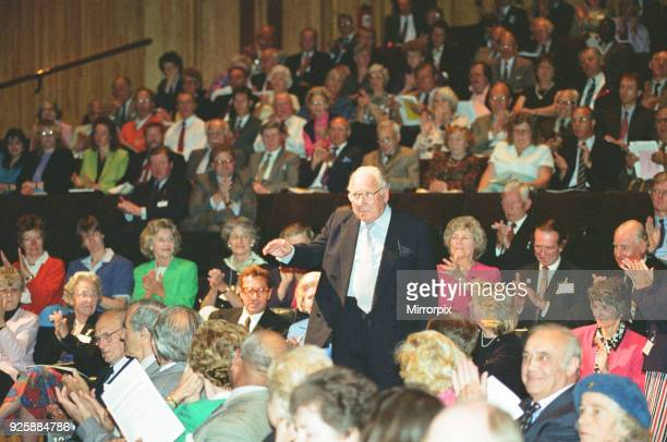 Former British Airways Chair Lord King seen here during the British Airways AGM in London's Barbican Centre Where shareholders heard Chairman Colin...