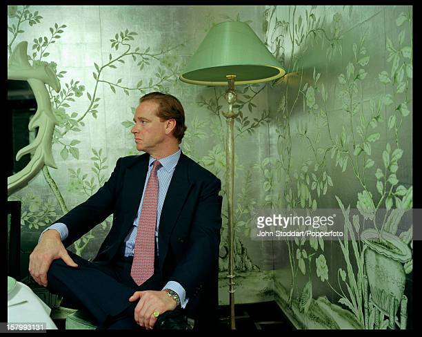 Former British army officer James Hewitt circa 2000 Diana Princess of Wales admitted to having an affair with him in a 1995 interview