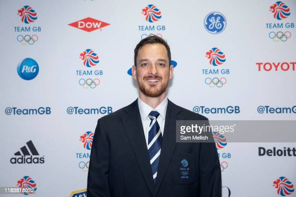Former British bobsledder Stuart Benson at Team GBs annual ball at Old Billingsgate on the 21st November 2019 in London in the United Kingdom