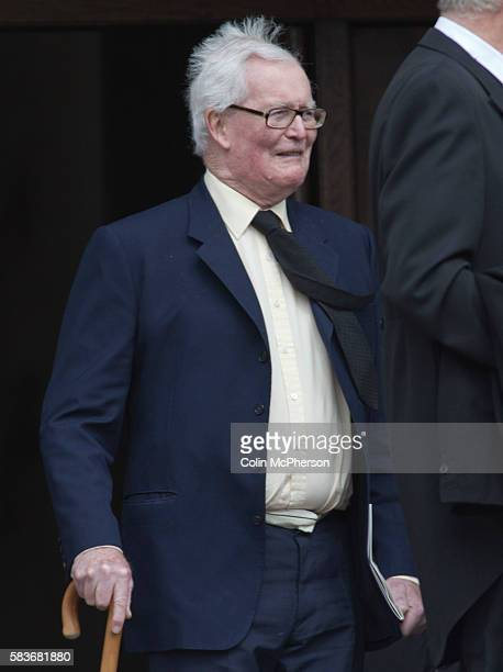 Former British Cabinet minister Lord Douglas Hurd departing St Paul's following the funeral service for Margaret Thatcher The funeral of Baroness...