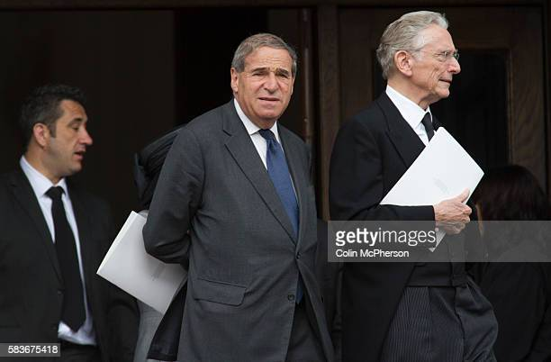 Former British Cabinet minister Lord Leon Brittan departing St Paul's following the funeral service for Margaret Thatcher The funeral of Baroness...