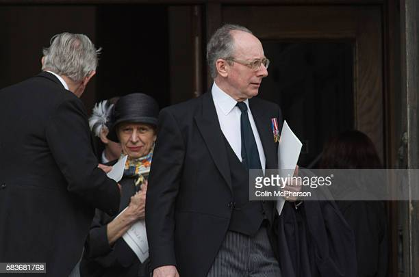 Former British Cabinet minister Sir Malcolm Rifkind MP departing St Paul's following the funeral service for Margaret Thatcher The funeral of...