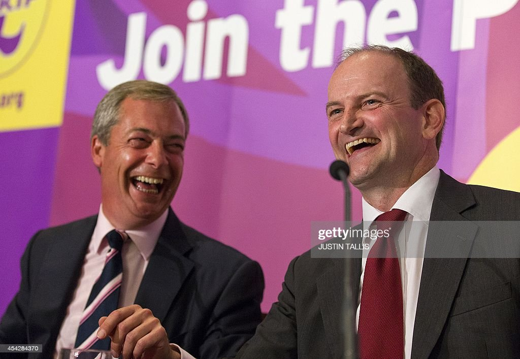 BRITAIN-POLITICS-VOTE-UKIP : News Photo