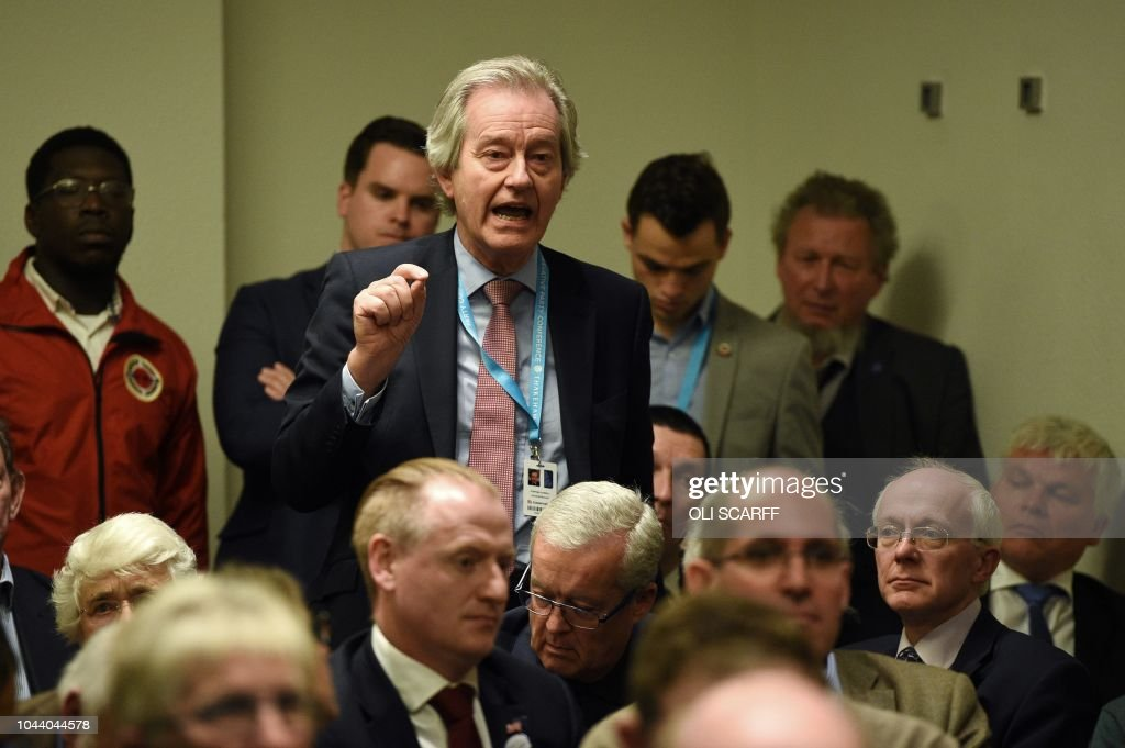 BRITAIN-POLITICS-CONSERVATIVES : News Photo