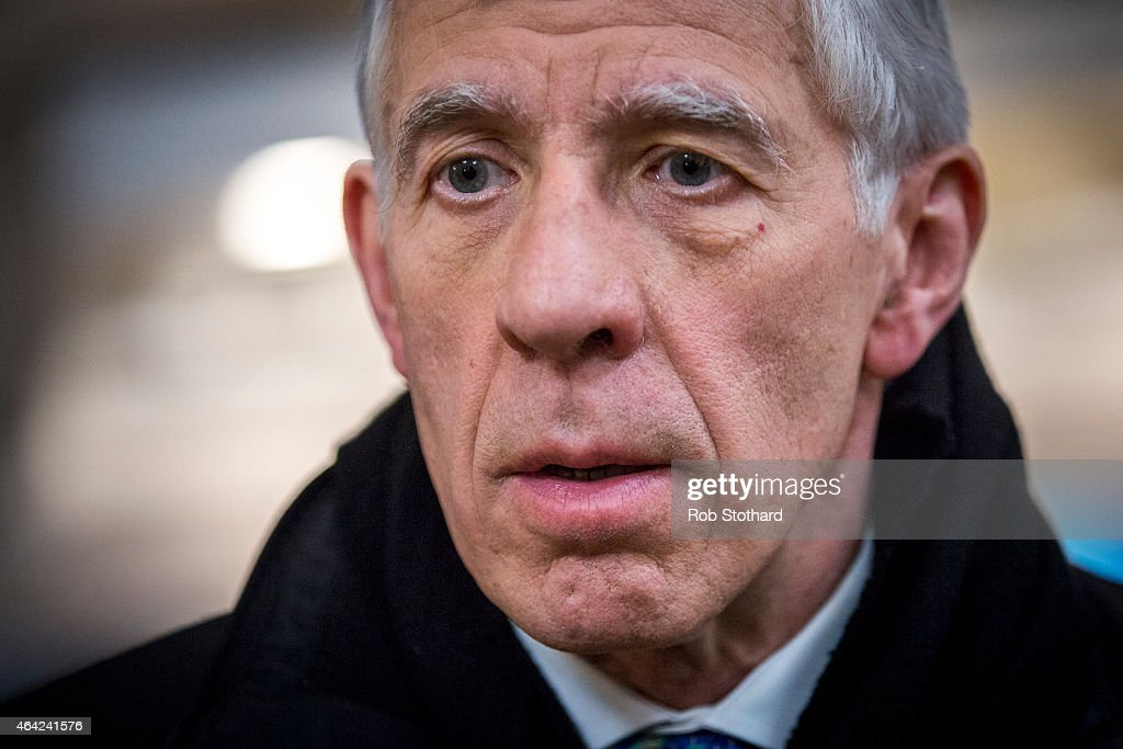 Jack Straw Arrives At Millbank Studios In The Wake Of Cash For Questions Scandal : News Photo