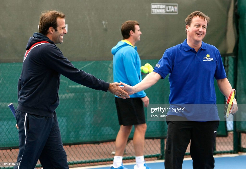 David Cameron Visits National Tennis Centre