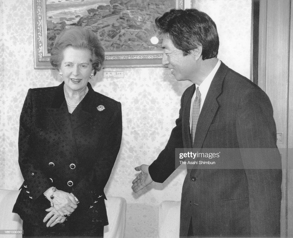 Margaret Thatcher On The International Stage