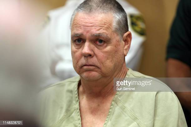 Former Broward Sheriff's Office deputy Scot Peterson appears in the courtroom for a hearing at the Broward County Courthouse in Fort Lauderdale Fla...