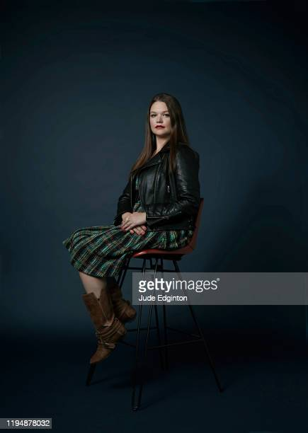Former business development director for Cambridge Analytica Brittany Kaiser is photographed for the Times on October 9 2019 in London England