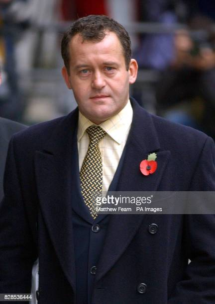 Former butler to Diana Princess of Wales Paul Burrell arrives at the OId Bailey in London Burrell of Farndon Cheshire denies stealing 310 items from...