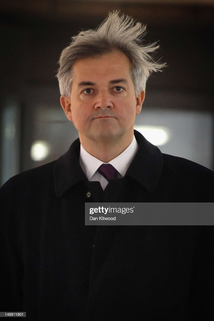 MP Chris Huhne And Ex-wife Vicky Pryce Attend Court Over Speeding Fine