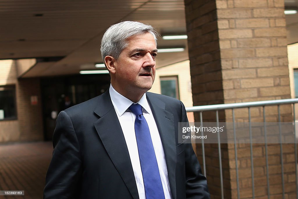 Former Energy Secretary Chris Huhne Attends Court Charged With Perverting The Course Of Justice