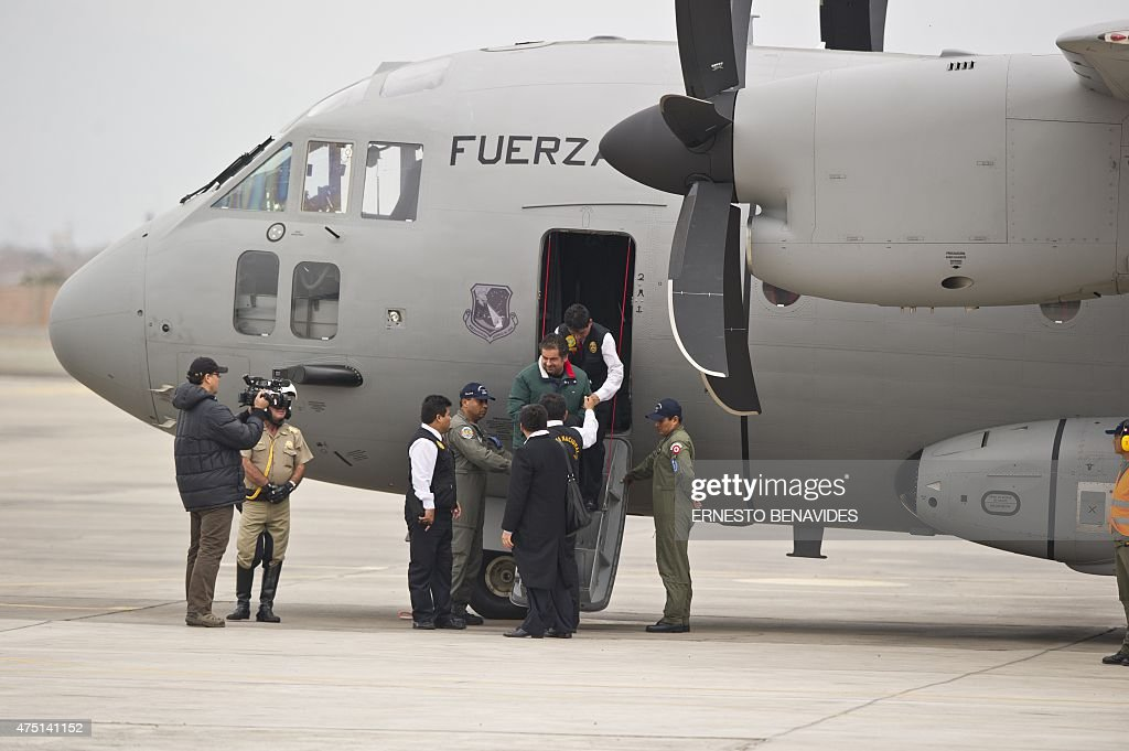 PERU-BOLIVIA-BELAUNDE LOSSIO-EXTRADITION : News Photo