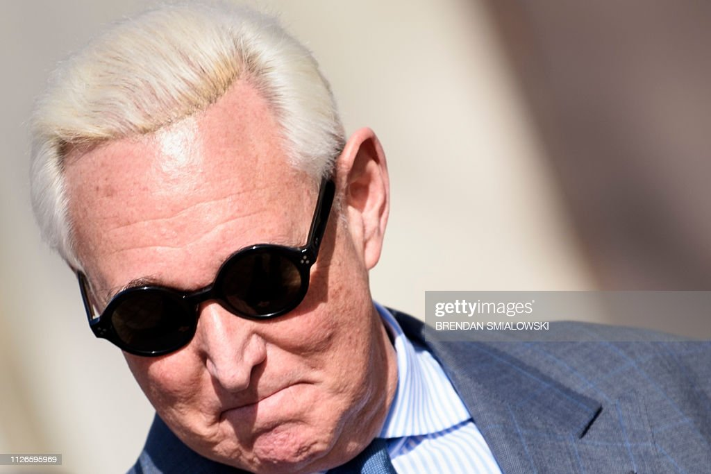 DC: Roger Stone Returns To Court After Violating Gag Order From Judge