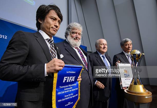 Former captain of the Japanese national team Tsuneyasu Miyamoto Confederation of North Central American and Carribean Association Football General...
