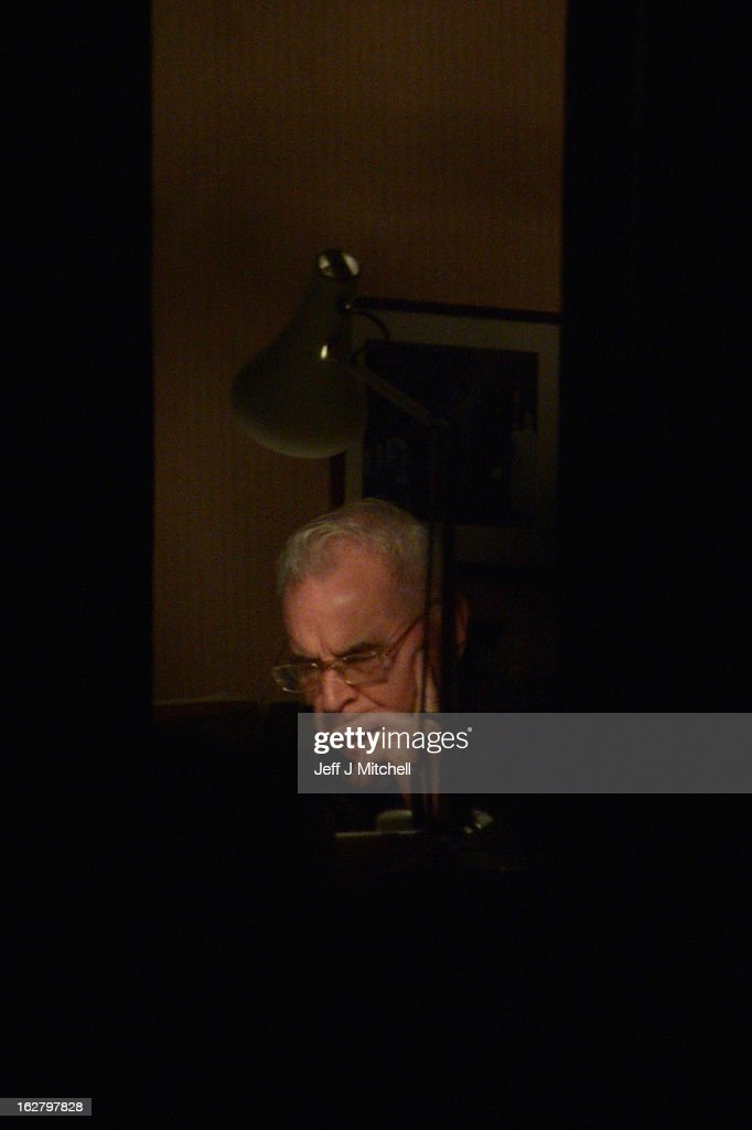 Former Cardinal Keith O'Brien sits in his office at his official residence on February 27, 2013 in Edinburgh, Scotland. The former Cardinal who was Britain's most senior Roman Catholic and head of the Scottish Catholic Church, has resigned following allegations from three priests and one former priest of inappropriate behavior.