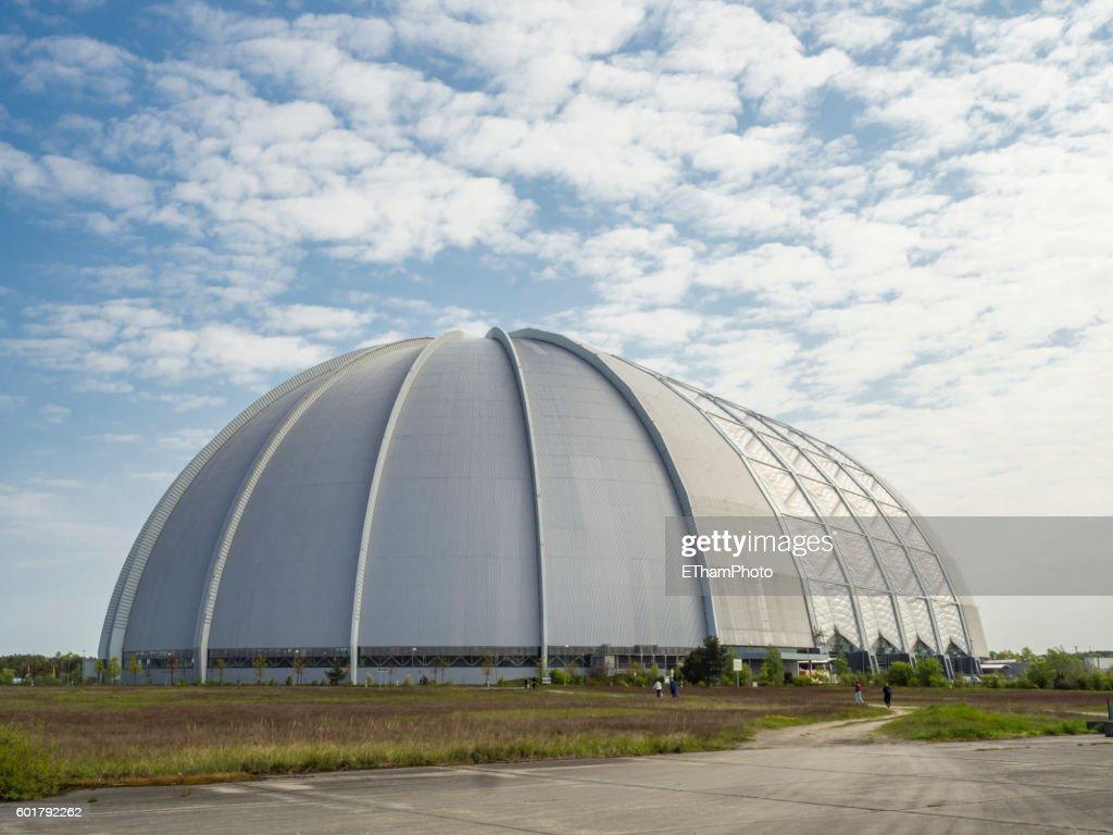 Former Cargolifter Airship Hangar Aerium Now Housing The