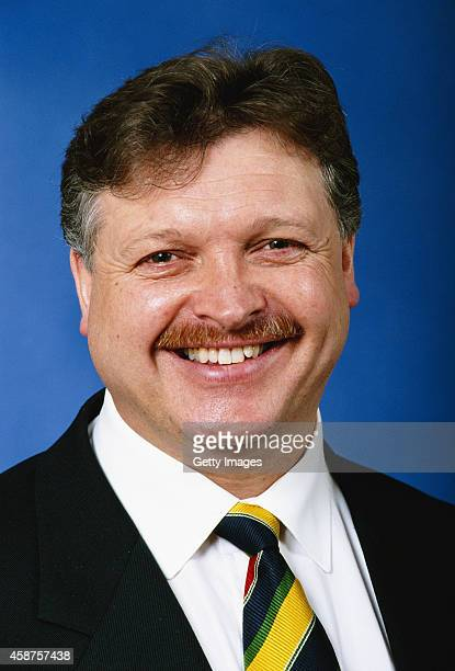 Former Carlisle United Chairman and manager Michael Knighton pictured at Soccerex' 96 at the Wembley convention centre, London, England in 1996.