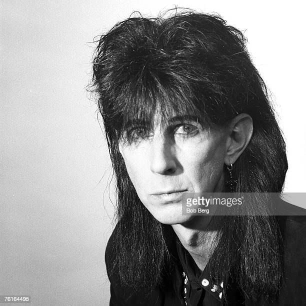 Former Cars singer/songwriter and producer Ric Ocasek poses for a February 1993 portrait in New York City, New York.