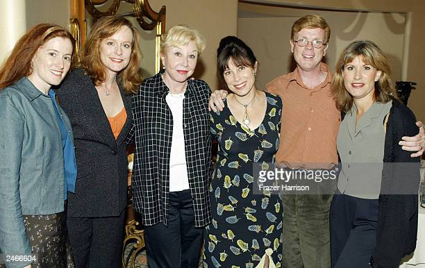Former cast members of the long running telelvision series The Waltons Kami Cotler Mary McDonough Michael Learned Lisa Harrison Jon Walmsley and Judy...