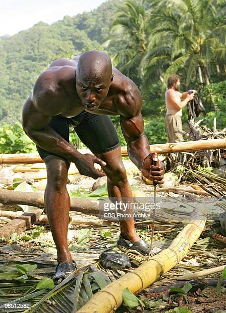 Former castaway James Clement during the reward challenge during the first episode of SURVIVOR HEROES VS VILLAINS Thursday Feb 11 on the CBS...