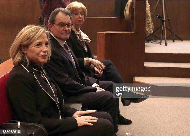 Former Catalan vicepresident of Catalan Government Joana Ortega former President of the Catalan Government and leader of Partit Democrata Europeu...