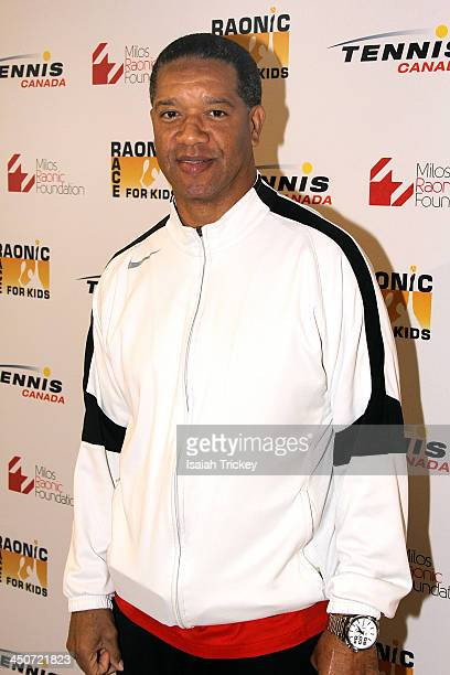 Former CFL Quarterback Damon Allen attends The 2nd Annual Raonic Race For Kids Fundraiser Benefitting The Milos Raonic Foundation on November 19,...