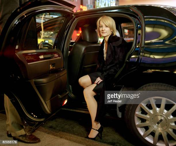 Former CFO of Lehman Brothers Erin Callan poses at a portrait session in New York City Published image